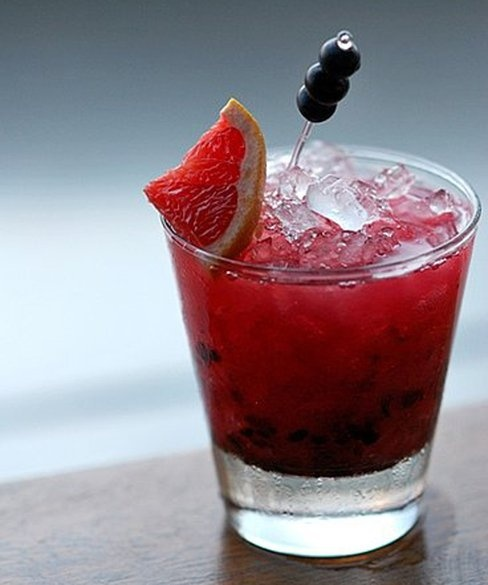 ... , and blackberry liqueur, the bramble is a classic Summer cocktail