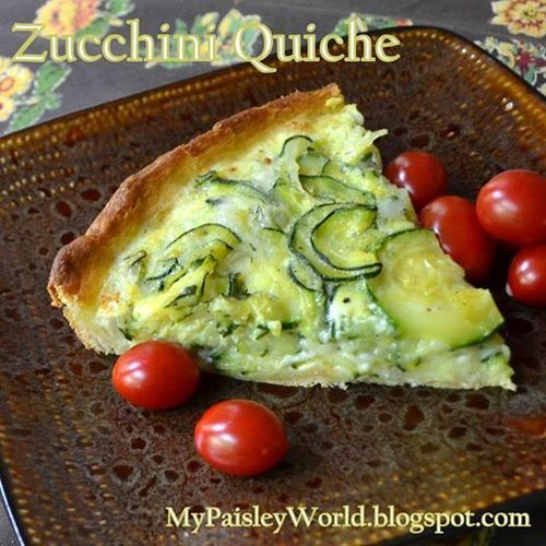 Zucchini Quiche | Dinner with Dany | Pinterest