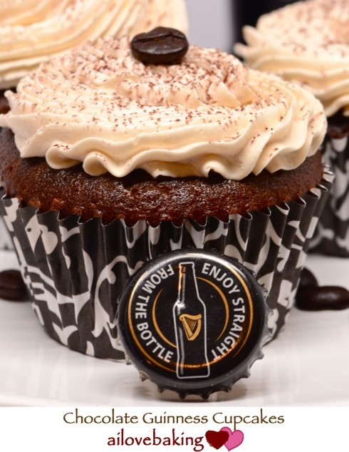 Chocolate Guinness Cupcakes | baking made fun | Pinterest