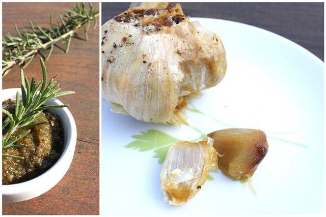 Creamy roasted garlic, rosemary, potato soup. All farmers market ...