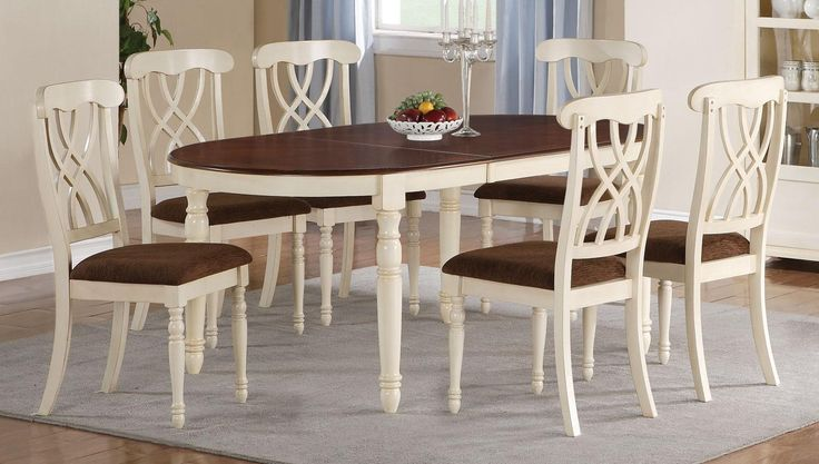 Cameron oval 5pc dining set perk up your dining room pinterest - Oval kitchen table sets ...