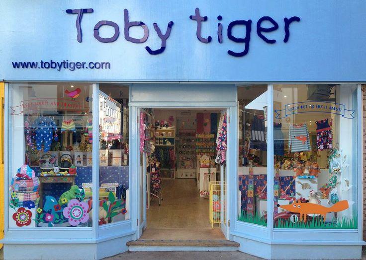 Toby Tiger www.tobytiger.co.uk   Stockists   Pinterest