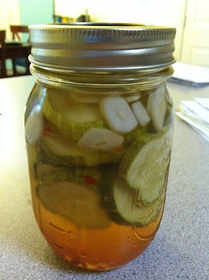 Quick & Easy Homemade Pickles | Mangia Mangia | Pinterest