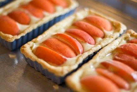 Almond, Apricot, And Cream Cheese Crostata Recipe — Dishmaps