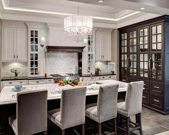Modern classic interiors inspiracje na emigracji for Classic contemporary kitchen design ideas