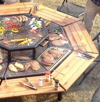 BBQ Fire Pit | Lair | Pinterest