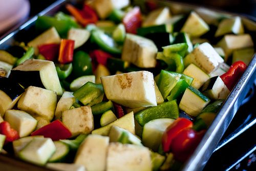 Roasted Ratatouille | Low Carb Recipes | Pinterest