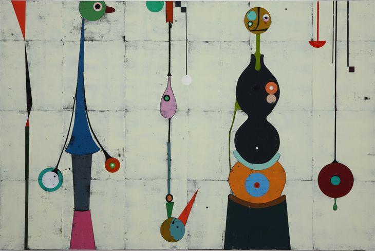 Gert & Uwe Tobias - Untitled (Panel 4 detail) - 2009