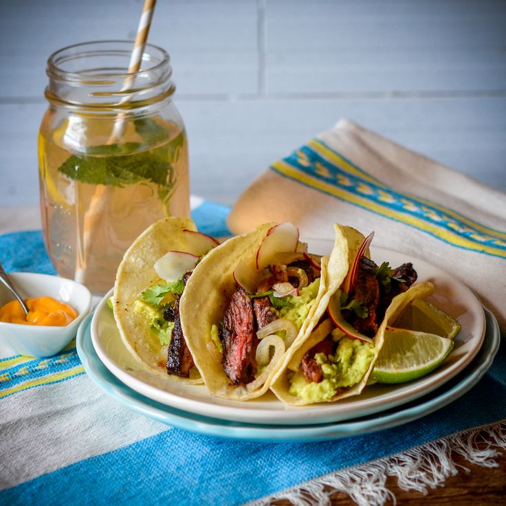 Recipe: Skirt Steak Tacos with a Taste of the Southwest rub!