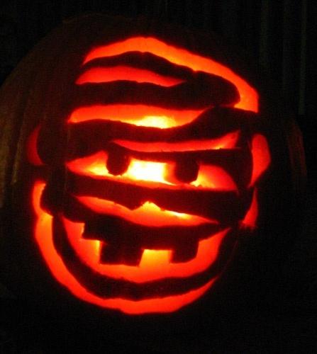 Carving your Pumpkin....