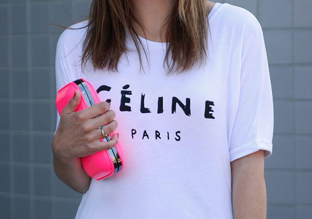 Celine t shirt