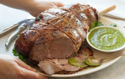 Leg of Lamb with Mint Salsa Verde | Whole Foods Market
