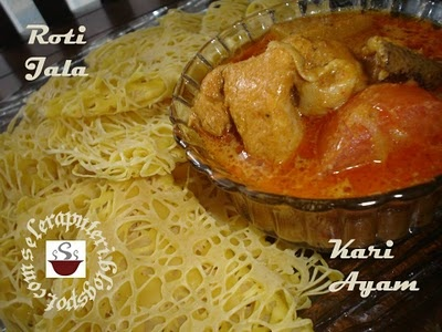 Roti Jala And Malaysian Curry Chicken Recipe — Dishmaps