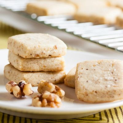 Walnut Shortbread | wanna come with?