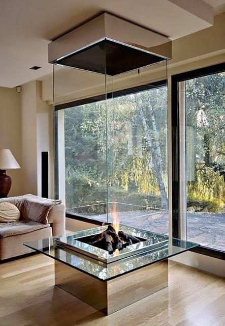 Amazing Home Decor Glass Fireplace Dream Home Pinterest