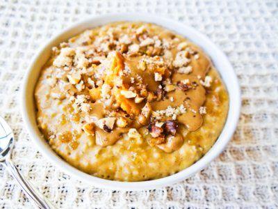 Sweet Potato Pie Oatmeal   breakfast   Pinterest