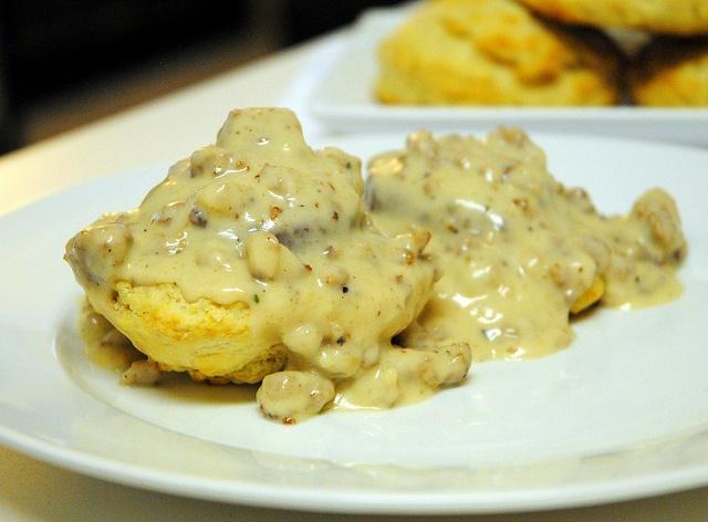 Buttermilk Biscuits and Sausage Gravy | My Blog! | Pinterest