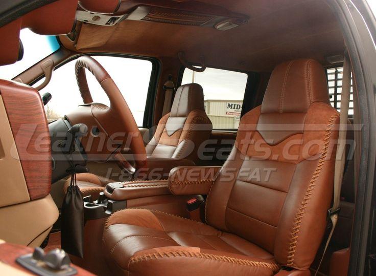 king ranch style truck interior conversion interior