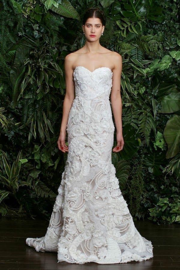 Wedding dresses naeem khan bridal for Naeem khan wedding dress