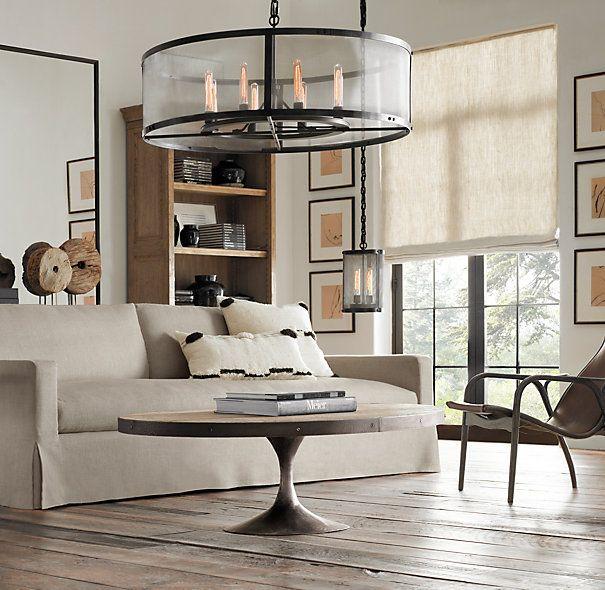 Belgian Linen Sofa Ideas For Living Pinterest