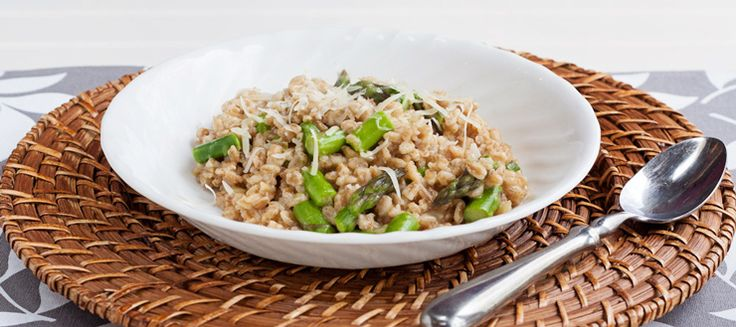 Asparagus and Farro Risotto | Recipes | Pinterest