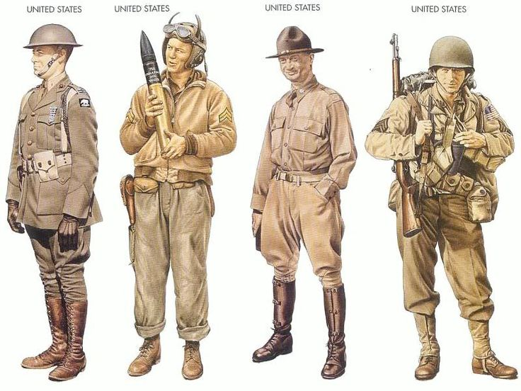 American marines military uniforms