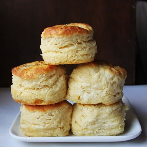 Butter Biscuits - This recipe uses eggs. I don't think I've ever seen...