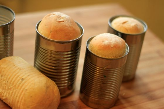 Garlic and Thyme Bread in a Can | Food | Pinterest
