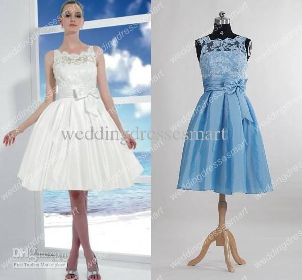 wholesale short beach wedding dresses