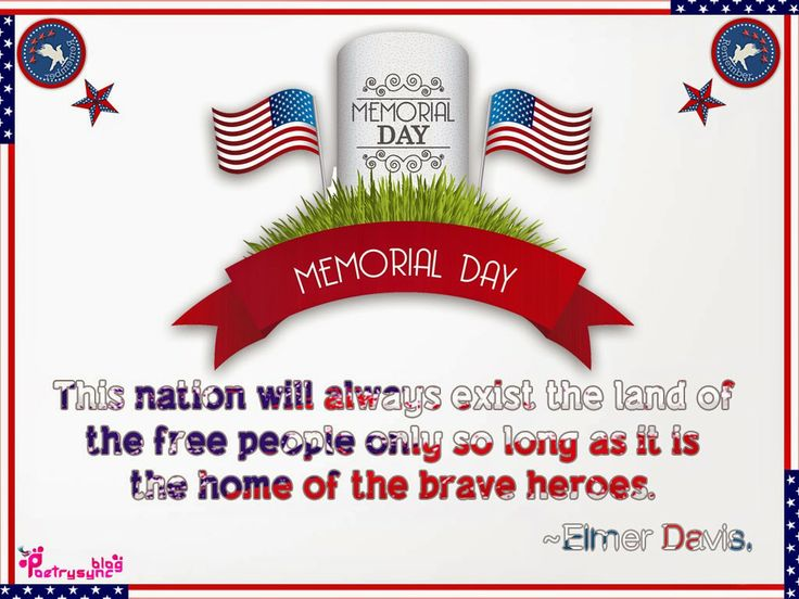memorial day message to employees