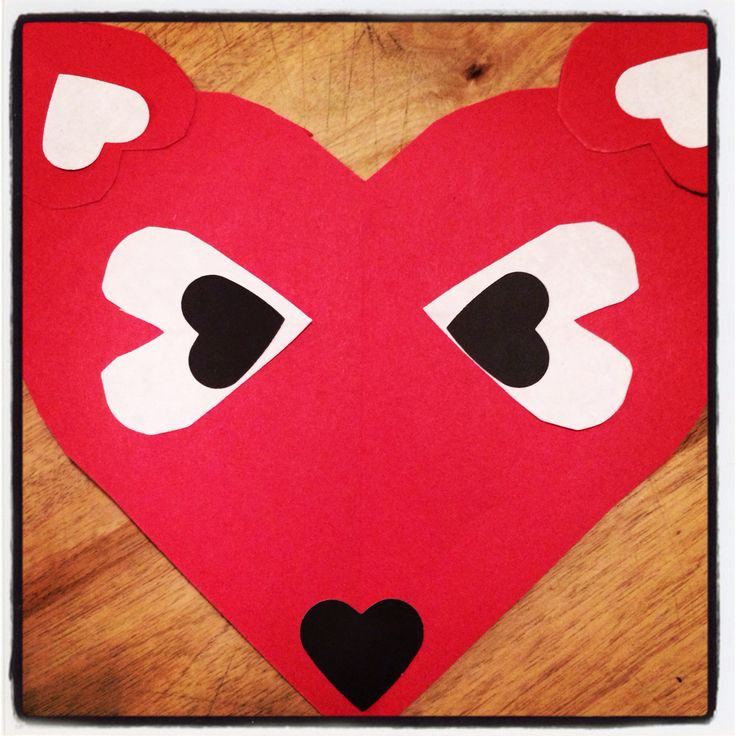 happy valentine heart stampin up