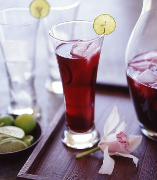Hibiscus Tea is a great source of vitamin C - I'll enjoy drinking this ...