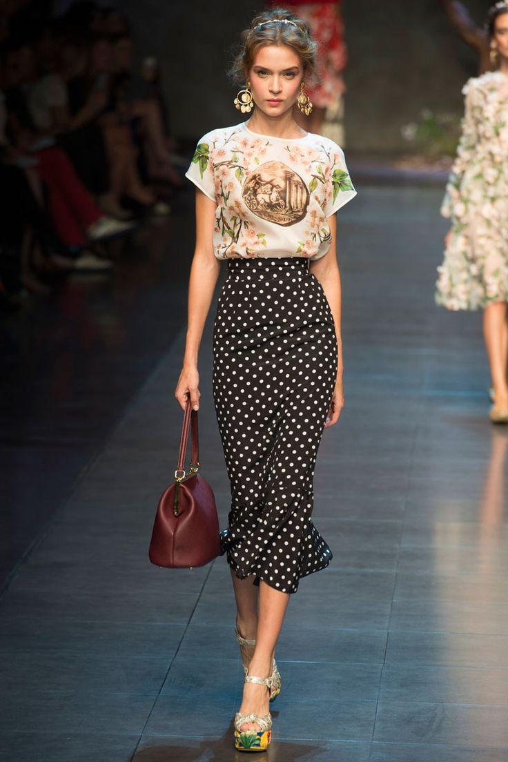 Dolce & Gabbana весна 2014 RTW