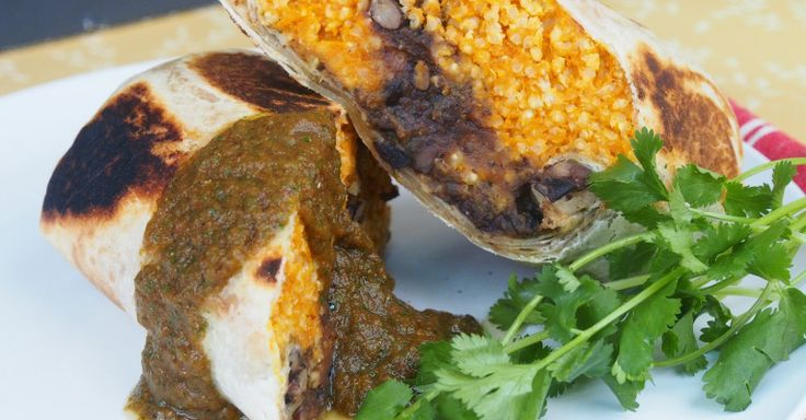 Pumpkin Black Bean Burrito | Recipes: Sandwiches, Wraps, Tacos | Pint ...