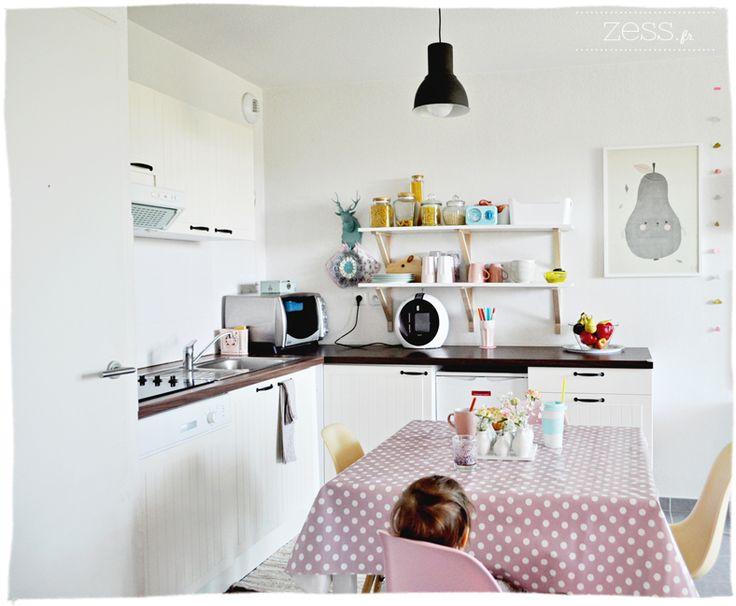 Chambre Adulte Ton Beige : cuisine déco vintage eames  Cuisine  Pinterest