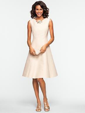 Wedding shopping pinterest for Talbots dresses for weddings