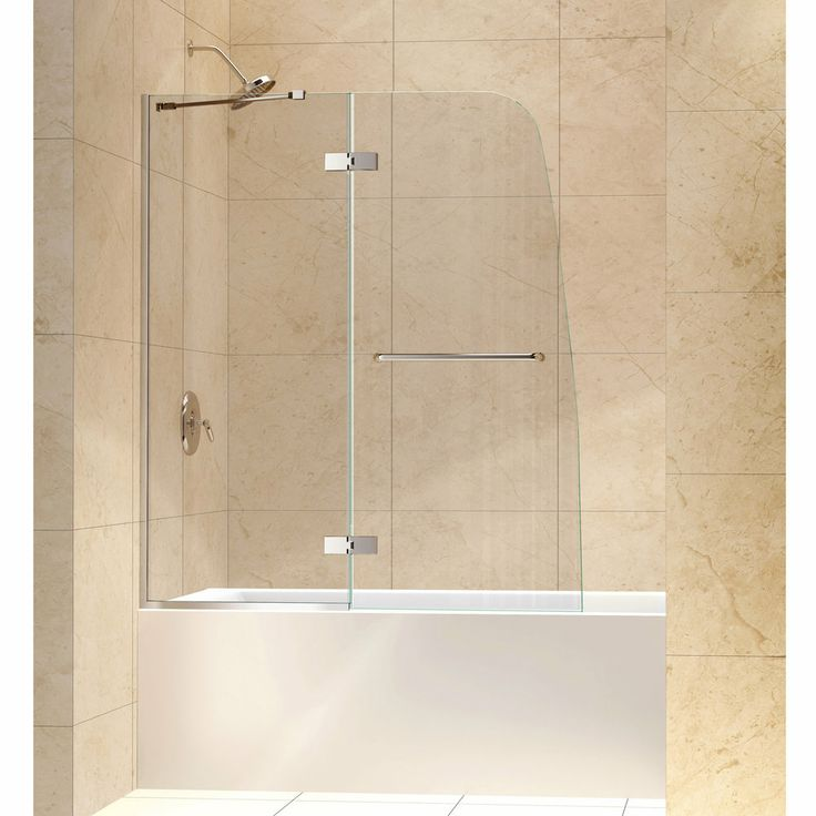DreamLine Aqua Ultra 48 Inch Frameless Hinged Tub Door