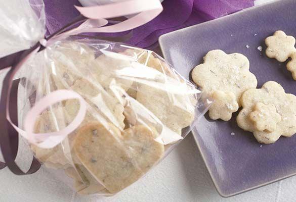 Lavender Fleur de Sel Shortbread | Recipe