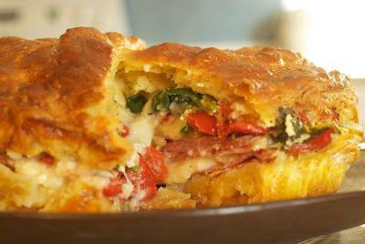 Italian Brunch Torta Recipe — Dishmaps