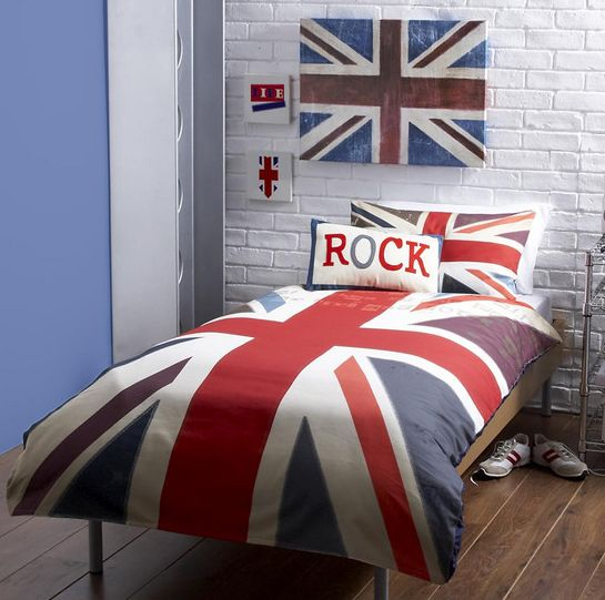 Union Jack bedding by Dunelm Mill | Boys rooms | Pinterest