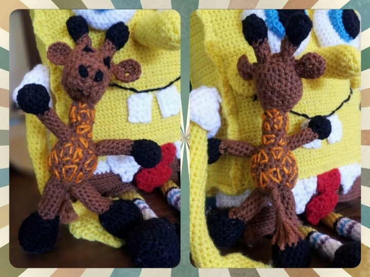 Amigurumi To Go Bigfoot Bunny : Little Bigfoot Giraffe Amigurumi Pattern Amigurumi To Go ...