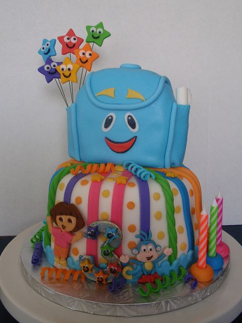 Dora's Cake by Art Cakes, via Flickr