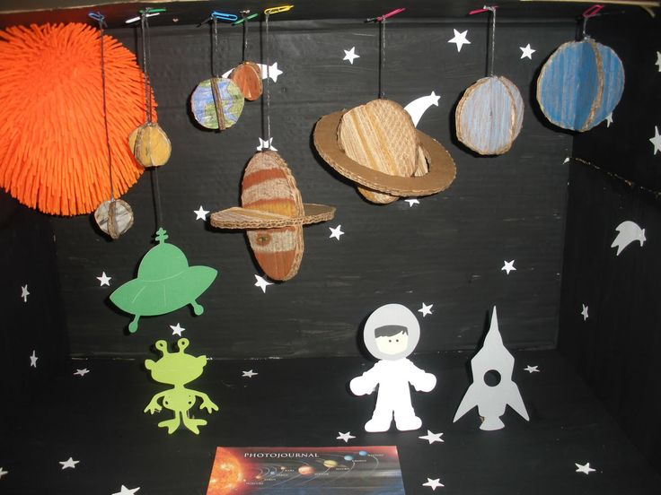 solar system model diorama - photo #31