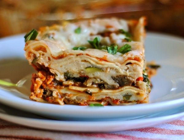 vegetable lasagna | Good eats | Pinterest