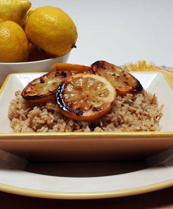 Lemon Brown Rice Pilaf - this was very yummy  Satisfied that lemon    Lemon Rice Pilaf