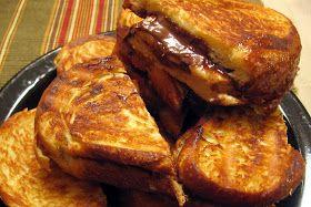 Banana Nutella panini | Sandwiches | Pinterest