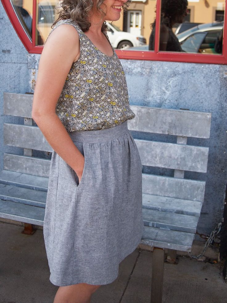 Fancy Tiger Crafts: An Everyday Skirt for Everyday