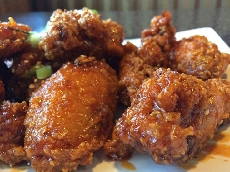 Korean chicken wings | Nom Nom Nom Nom | Pinterest