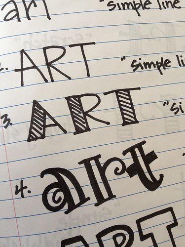 Art flickr photo sharing font fun pinterest