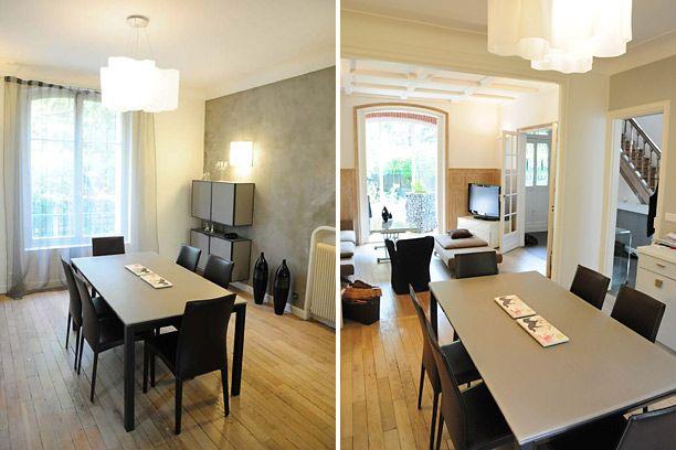 Salon contemporain et bois  Salon  Pinterest
